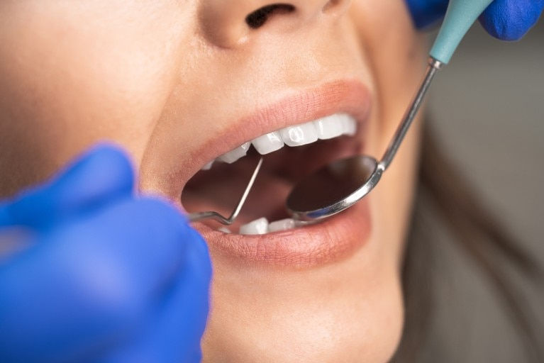 Paciente y dentista
